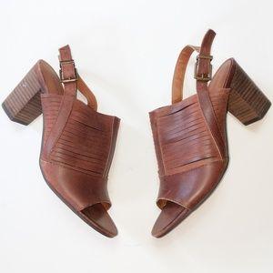 Lucky Brand Jorelie Leather Sandal